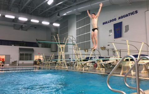 Students of the Week:  Senior Divers Sam Hughes and Jimmy Lawson
